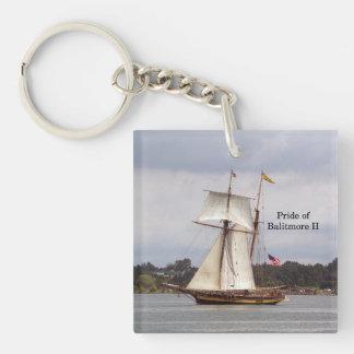 Pride of Baltimore II acrylic key chain