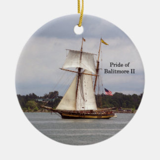 Pride of Baltimore II ornament
