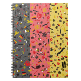 Pride of Germany Spiral Note Book