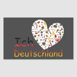 Pride of Germany Rectangular Sticker