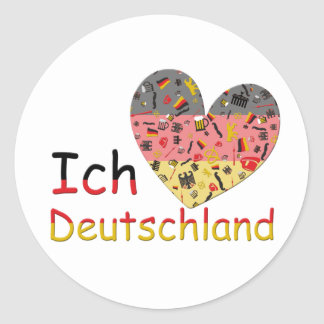 Pride of Germany Round Sticker
