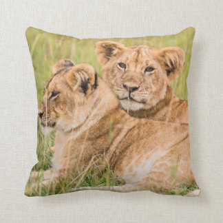 Pride of Lion Cubs Cushion