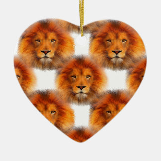 Pride of Lions Christmas Ornament