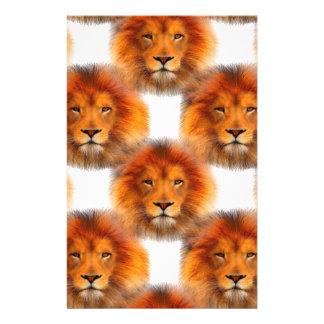 Pride of Lions Custom Stationery