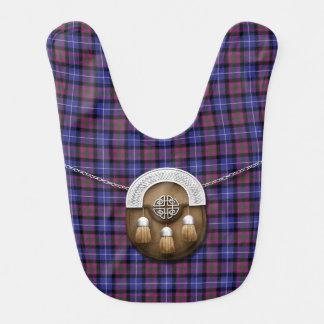 Pride Of Scotland Fashion Tartan And Sporran Bibs