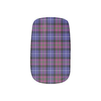 Pride Of Scotland Fashion Tartan Minx Nail Art