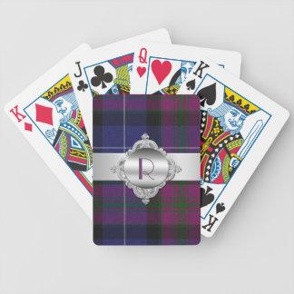 Pride of Scotland Tartan Plaid Playing Cards