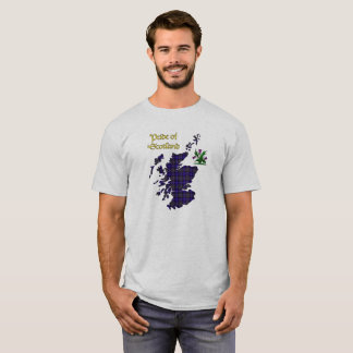 Pride of Scotland Tartan T-Shirt