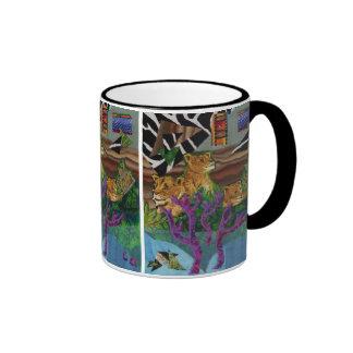 Pride of the Safari Ringer Mug