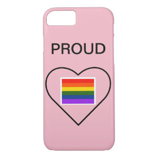 pride phone case 7/8 iphone, lgbt pride, proud