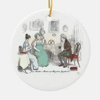 Pride & Prejudice - Announcement By Sir William Lu Christmas Ornament