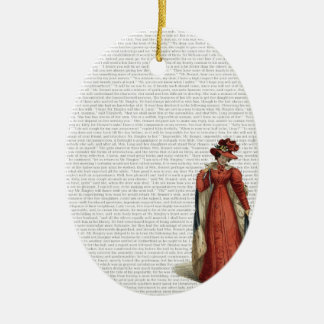 Pride & Prejudice Ceramic Oval Decoration