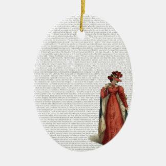 Pride & Prejudice Christmas Ornament