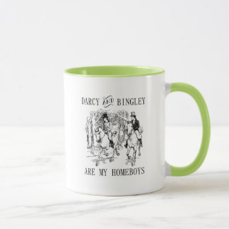 Pride & Prejudice Darcy & Bingley Homeboys mug