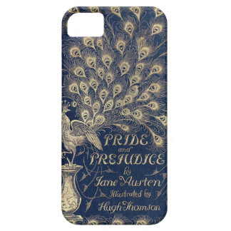 Pride & Prejudice peacock iPhone cover
