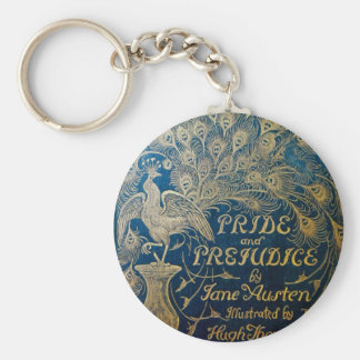 Pride & Prejudice Peacock Key Chain
