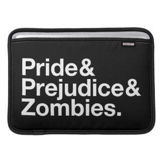 Pride & Prejudice & Zombies Sleeves For MacBook Air
