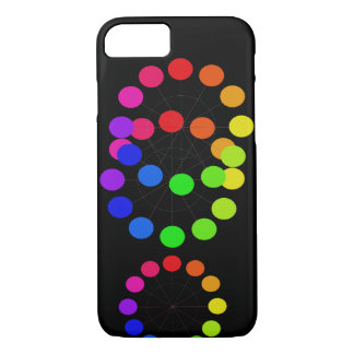 Pride Rainbow Colorwheel Spectrum Pop Art Chic iPhone 8/7 Case