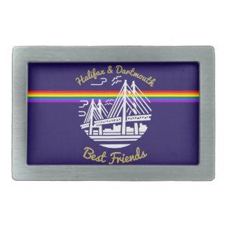 Pride Rainbow Halifax  Dartmouth Best  belt buckle