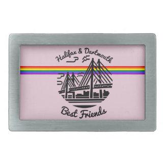 Pride Rainbow Halifax Dartmouth friend belt buckle