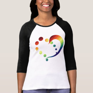 Pride Rainbow Heart T-shirt