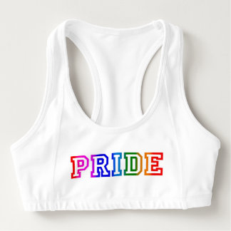 PRIDE Rainbow Sports Bra