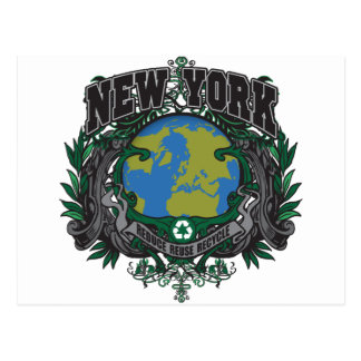 Pride Recycle New York Postcard