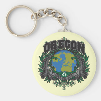 Pride Recycle Oregon Key Ring