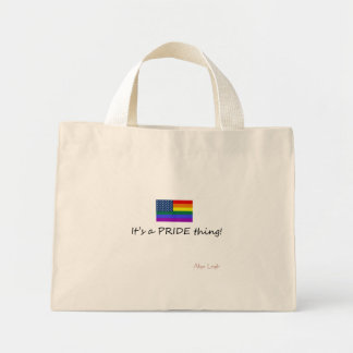 Pride Shopping Tote Canvas Bags