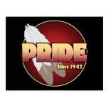 PRIDE Since 1947 Postcard