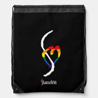 Pride Smut Mark Shameless Book Club Drawstring Bag