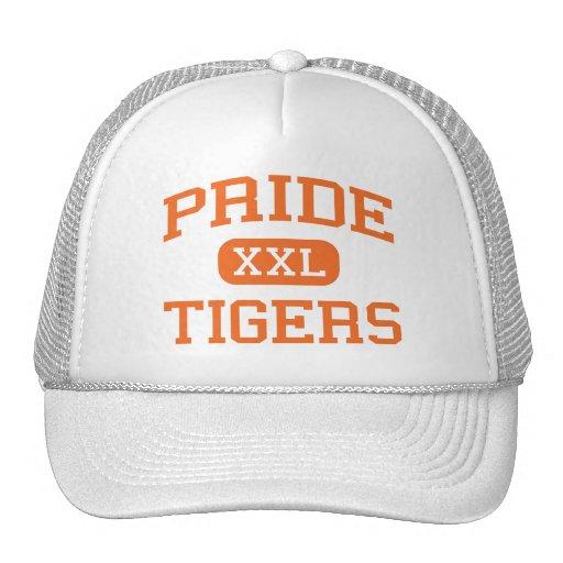 Pride - Tigers - High School - Huron South Dakota Trucker Hats