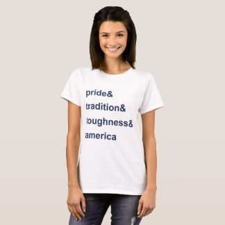 Pride Tradition Toughness America Blue T-Shirt