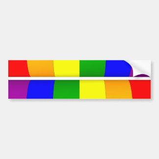 Pride Twofer Bumper Sticker