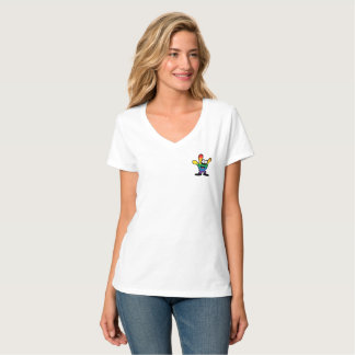 Pride Women's V-Neck Tee Shirt