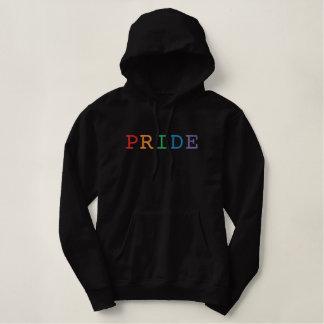 Pride Word Embroidered Hoodie