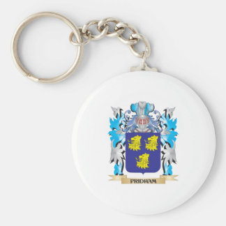 Pridham Coat of Arms - Family Crest Key Chain