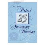 Priest 25th Ordination Anniversary Blue, Silver