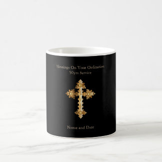 Priest Anniversary 15th 20th 25th 30th 40th 50th Coffee Mug