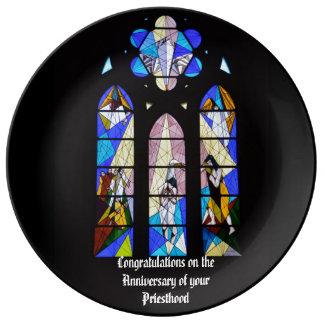 Priest Anniversary 15th 20th 25th 30th 40th 50th Porcelain Plate