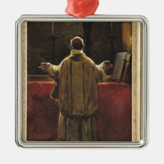 Priest at the Altar Christmas Ornament