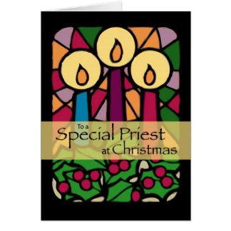 Priest Christmas Card