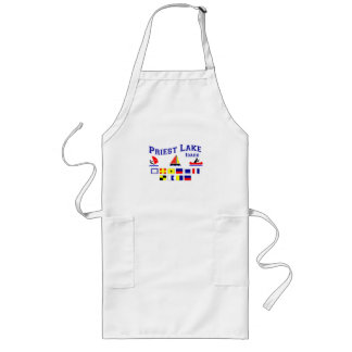 Priest Lake ID Signal Flags Long Apron