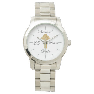 Priest Silver Jubilee 25th Personalized Watch