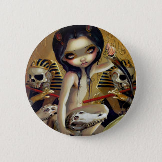 """Priestess of Nyarlathotep"" Button"