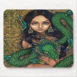 """Priestess of Quetzalcoatl"" Mousepad"