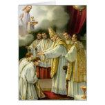 Priesthood Anniversary Bishop Ordination Jesus Greeting Card