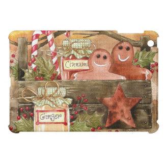Prim Gingers & Cinnamon - Prim Gingerbread iPad Mini Cover