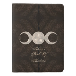 Prim Moon Book of Shadows Lg. Travel BOS Grimoire