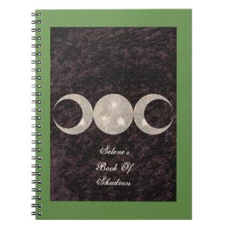 Prim Moon Design Book of Shadows BOS Grimoire